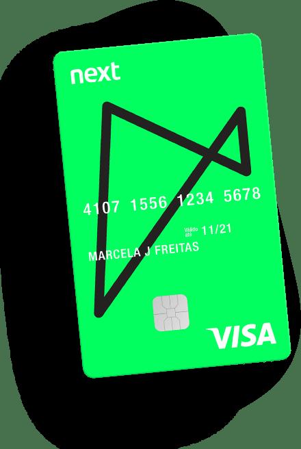 Cartão de crédito Next com conta corrente