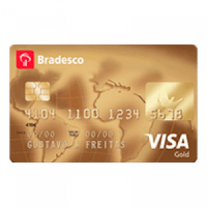 Cartao Bradesco visa gold
